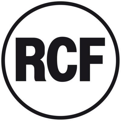 RCF Logo nero filetto